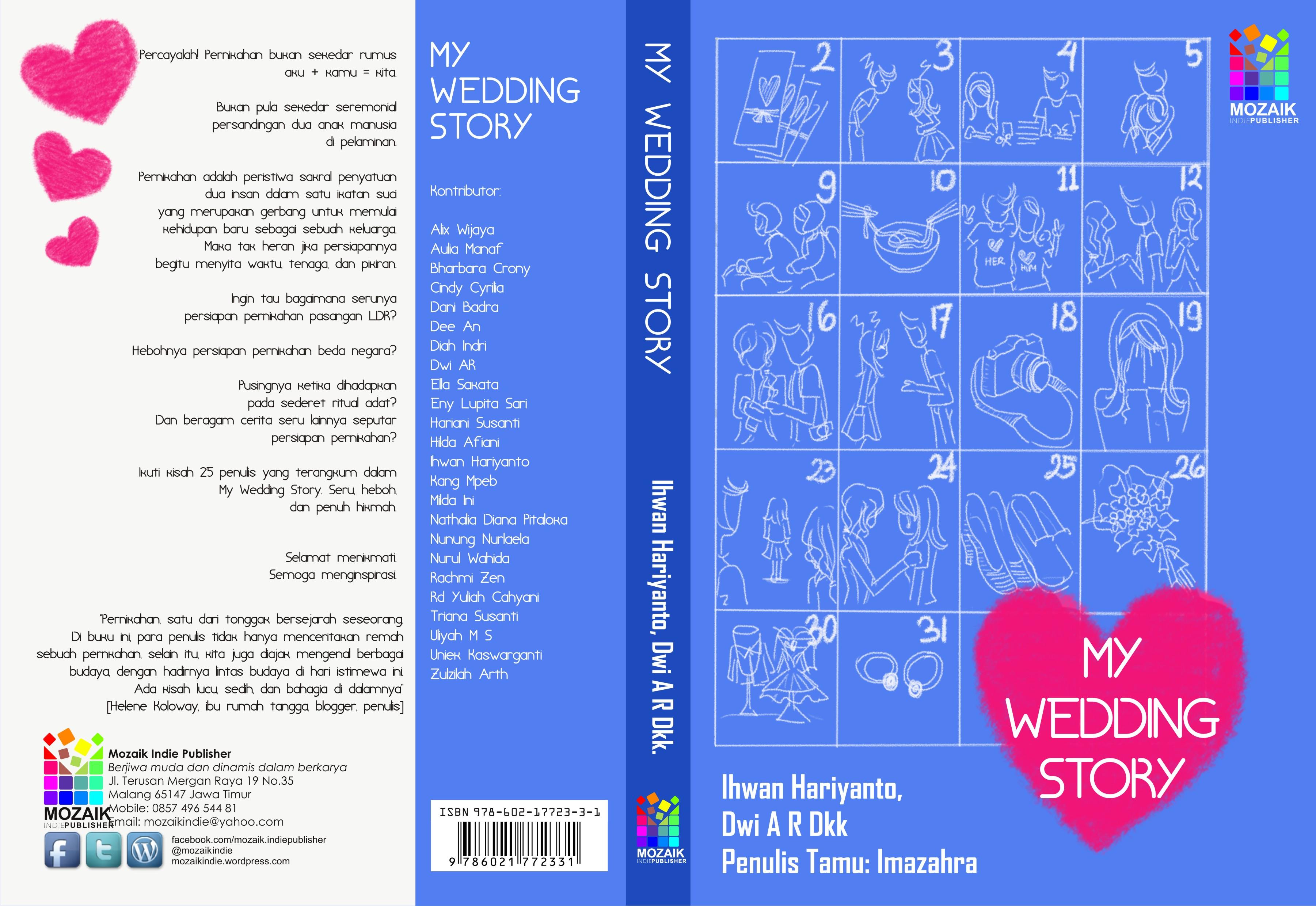 Pre Order My Wedding Story